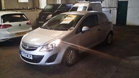 2012 / 12 PLATE Vauxhall 1.3CDTi Corsa CDTI ecoFLEX Panel Van NO VAT NO VAT N...