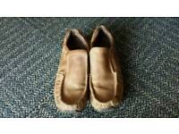 Mens shoes.light brown size 9