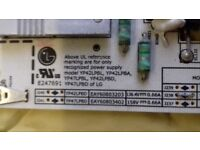 """(£30) LG TV 42"""" Power supply + Main Board /spares/YP42LPBL/YP42LPBA/YP47LPBL/YP42LPBD/YP47LPBD"""