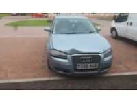 Audi a3 1.9tdi minor front end damage but runs great msg for more info..mot till june 2019.