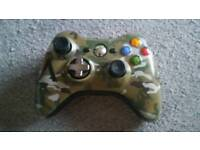 X box 360 custom controller and 3 games