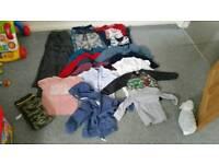 Bundle of boys clothes ages 2 -4