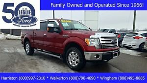 2013 Ford F-150 Lariat 4X4 | One Owner | NAV