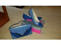 Brand new goegeous designer shoes & bag