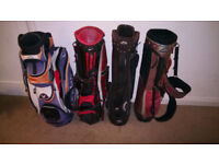 Golf Bags x4