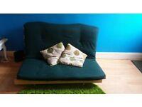 Nearly new FUTON sofa bed