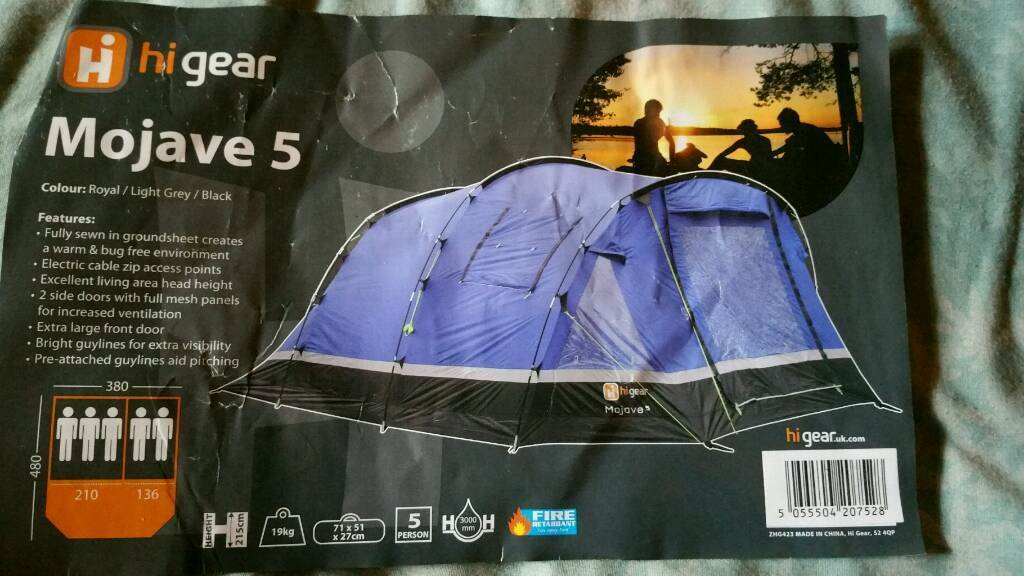 Tent- Mojave 5