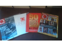 Collection of Q Magazines 1987 - 2003, including many extras