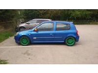 Renault Clio 182 cup paks,TIMING BELT & DEPHASER JUST DONE