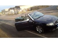 Audi A4 1.8 cabriolet full service history