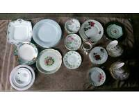 Lot of Plates And Cups
