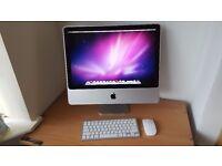 "Apple iMac 20"" El Capitan 8GB RAM 1TB Hard Drive"