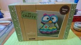 Owl Crotchet Kit *BRAND NEW*