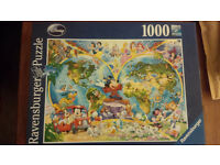Ravensburger Disney World Map 1000pc Jigsaw Puzzle