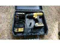 Dewalt combi drill, 18v. As new hardly used.