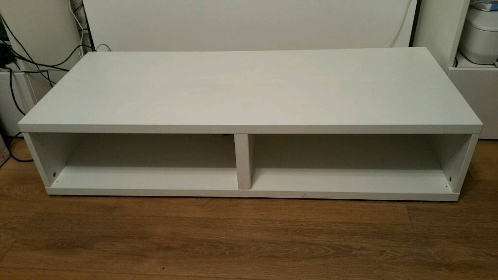 Ikea besta tv bench stand 120cm wide in redbridge for Ikea besta table d appoint