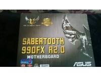 AMD Asus Sabertooth 2.0 990FX Motherboard