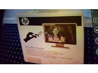 HP Wide-screen Monitor. Brand New boxed. Collect today cheap