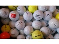 Golf balls - 100 mixed
