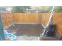 FENCING,GARDENER PAVING,DECKING,TURFING,TREE WORK..