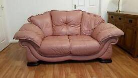 2 x 2 seater sofas and Foot stool