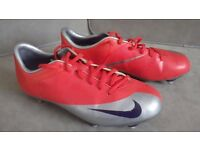 Red NIKE Football Boots - UK Size 5.5