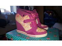 Babycham Wedge shoes