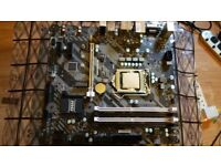 Intel Pentium G4560 3.50GHz CPU + MSI B250M Bazooka Motherboard Bundle