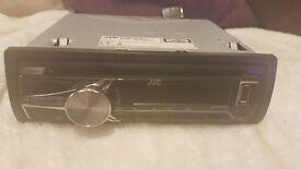 JVC Car Stereo USB / AUX / CD / Radio