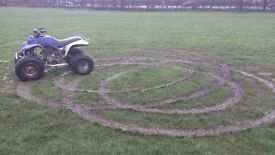 here I am selling a 250cc quad was out on it to day an chain came off runs an rides fine