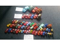 Disney cars and play set prices on the photos