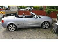 Audi a4 1.8 t s line convertible
