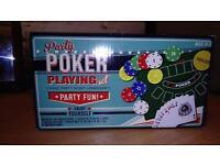 Poker Set (Brand New)