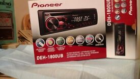 Pioneer cd radio player for car