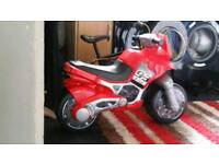 Child's ride on motor bike