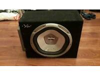 Sony x plod 1200 subwoofer and amp