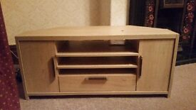 Solid pine TV unit in mint condition