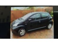 2007 Toyota Aygo +VVT-I 998cc Black. 5 Door 85k Miles MOT Until January 2019, £20 a Year to Tax