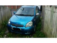 Toyota yaris for spares or repairs