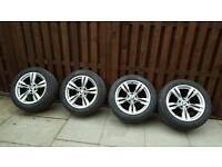 BMW X5 19inch wheels and tyres.