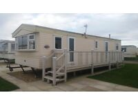 8 BERTH CARAVAN TO LET (GOLDEN PALM RESORT)