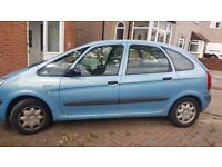 Citreon Picasso runs ok 9 months mot slight damage on right side.