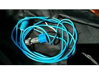 Caravan to mains cable