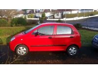 Chevrolet Matiz - great little run-around, very economical to run