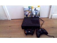Xbox 360 slim + FIFA17, Call of duty4