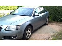 Audi A6 SE 2.0 tdi 2008 spares or repair. £1,650 ono quartz grey.