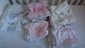 Baby girl 0-3 bundle