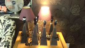 2 x table light/lamps