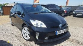 2014/64 Toyota Prius 1.8 Hybrid UK Model Finance Available