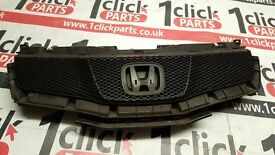2006 ONWARDS HONDA CIVIC TYPE R FN2 FRONT GRILL WITH MESH AND BACKING GENUINE